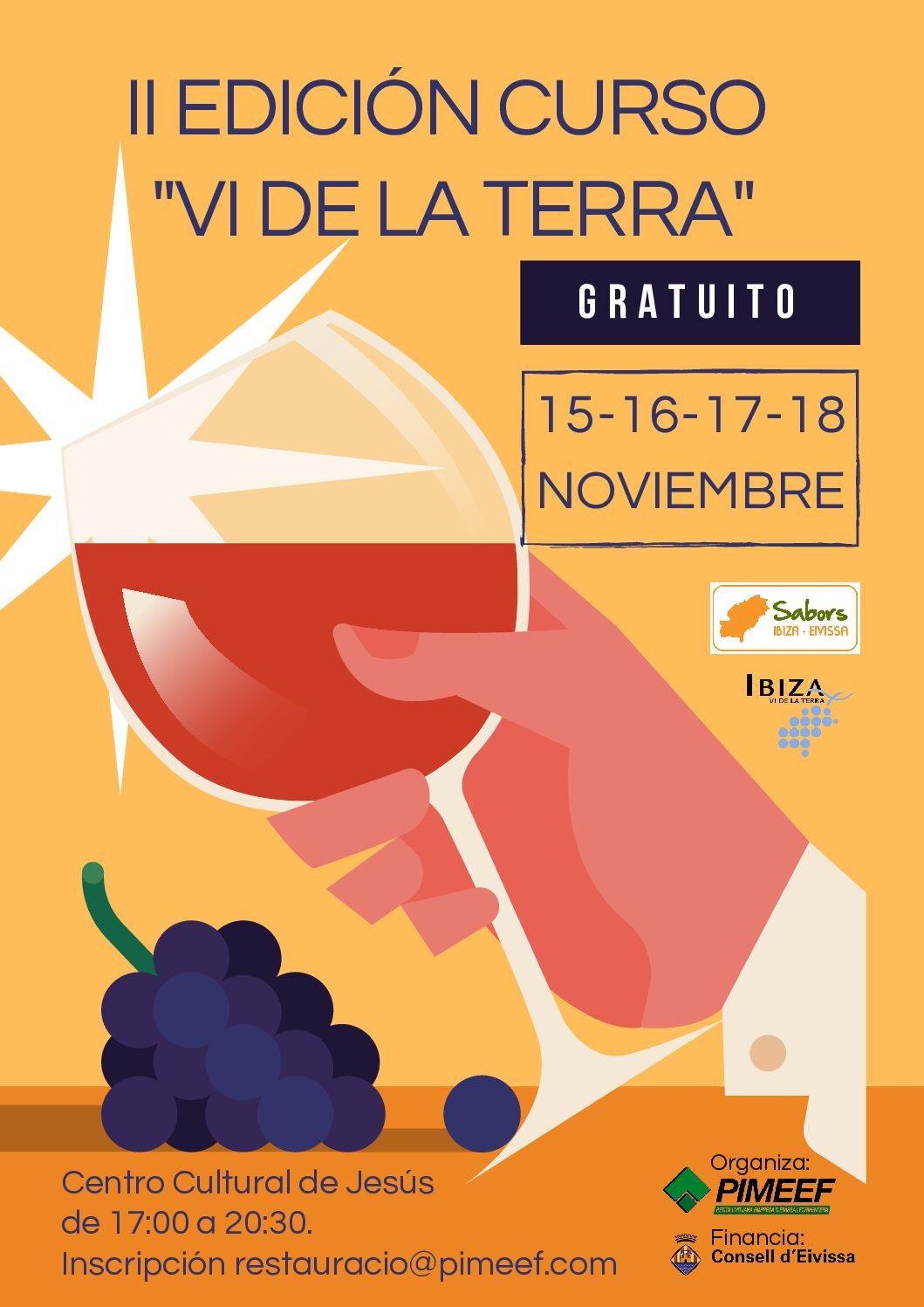 Nuevo curso de cata de vinos de la IGP Eivissa/Ibiza